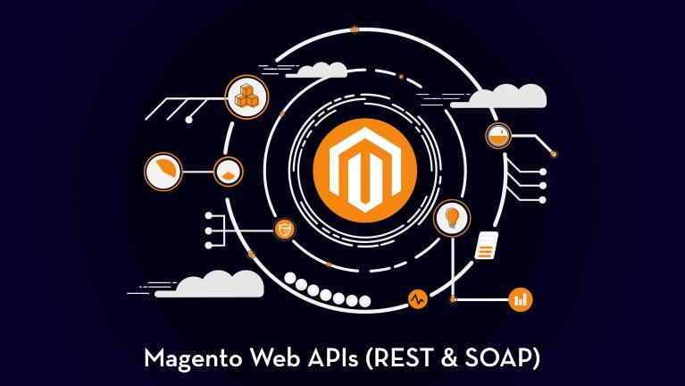 Magento web API