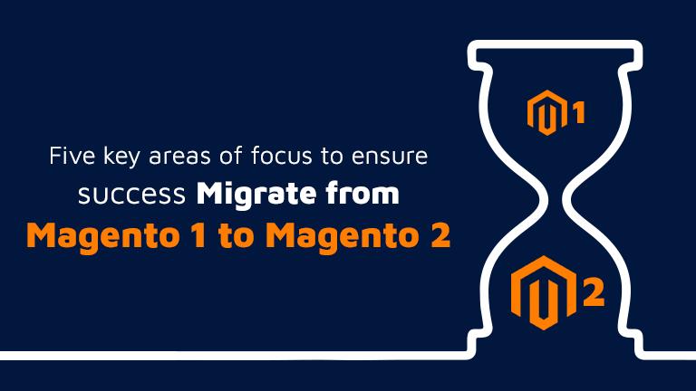 Magento 1 to Magento 2 migration.